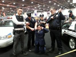 Jim Moriarty arrested at London MCM by NYPD by MsHarkness872