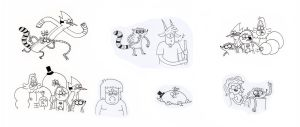 Regular Show Episode Doodles by GonkhNation