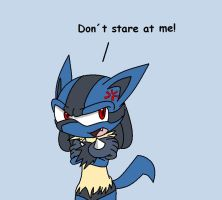 Lucario as a sonic character by sonicthehedgehog96