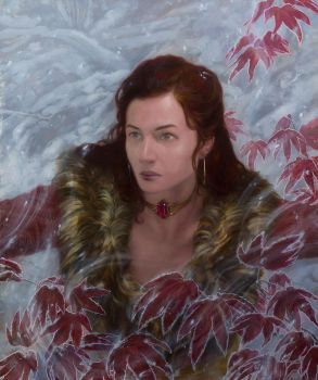 ASoIaF - Melisandre - Ice and Fire by DonatoArts