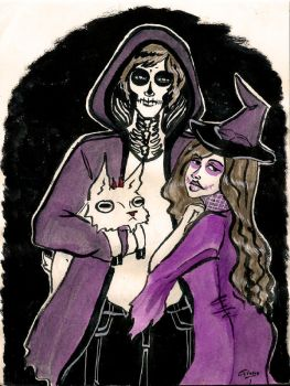 A Riper and a Witch by Gloriecilla