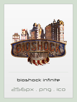 Bioshock Infinite icon by Shimmi1