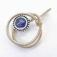 Coiled Wire Wrap Pendant by Create-A-Pendant