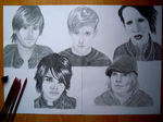 Jared, Ben, Marilyn, Gerard, Patrick by Lucia9413