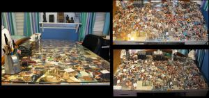 Decoupage Collage Desk by Mrs-Lovetts-Meat-Pie