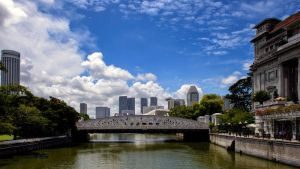 Along the Singapore River by Shooter1970