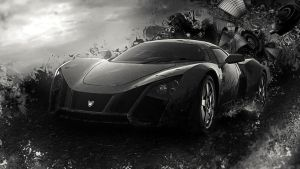 Need for Speed Most Wanted 2012 Abstract wallpaper by TheSyanArt