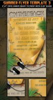 Beach Party Flyer Template by Hotpindesigns