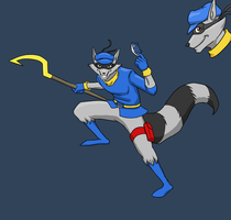 Sly Cooper by Pandadrake
