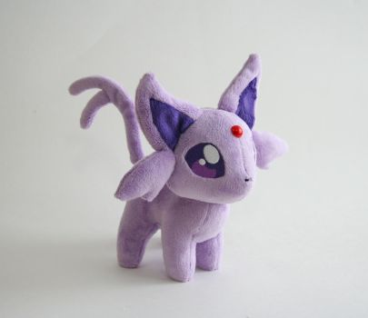 Espeon Chibi Plush by Yukamina-Plushies