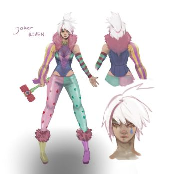joker riven by pinnippin
