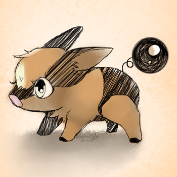 Tepig by Vesocile
