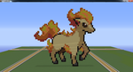 Rapidash Pixel Art by eewq