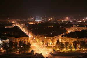 Hradec Kralove night by TOneil