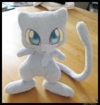 Shiny Mew plushies by Lophae