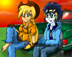 City Boy, Country Girl by MeganekkoPlymouth241