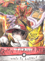 PKMN trainer Red by BrokenHAX