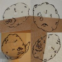 Meatwad Discs by SublimeBudd