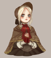 Plain Doll by mikimanni