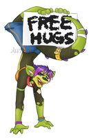 Free Hugs From Carnival by bluefreak