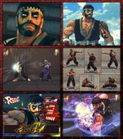 Street Fighter IV - Ryu ReTex by DjParagon