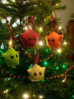 Luma Plush Ornament - 4 Set by ZombieBunnySlaya
