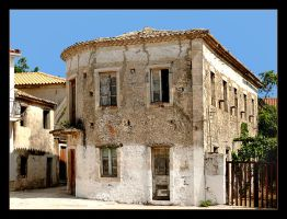 Sad House On Zakinthos by skarzynscy