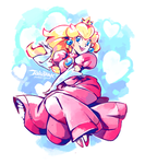 Painty Peach by super-tuler