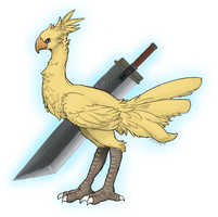 Chocobo Final Fantasy VII by nayuki910