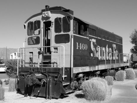 Santa Fe 1460 black and white by decophoto32