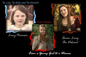 Lucy Pevensie - Narnia by Cassiopeeh
