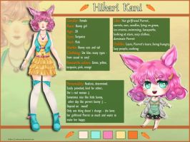 Hikari - reference sheet by Solceress