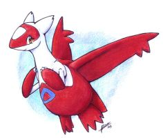 Just a Latias by nepryne