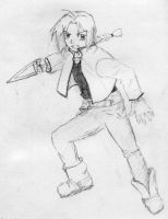 Edward Elric by Tuftless