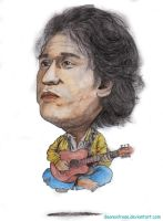 Iwan Fals in Water Colour by deanaxlrose