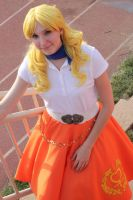 50's Sailor Venus by TheSnowDrifter