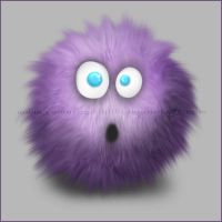 Fuzzy-Furry Ball LOL by CamaroGirl666