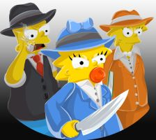 Those Simpsons by uniqueguy