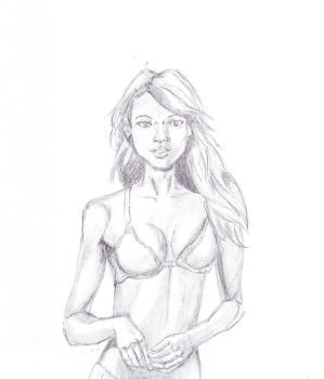 Life Drawing 9 by Ampzone