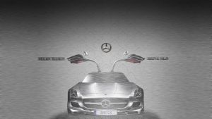 Mercedses-Benz SLS by rokpremuz