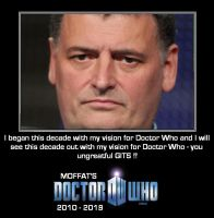 Doctor Who - Possible Steven Moffat Quote by DoctorWhoOne