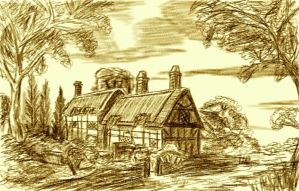 Anne Hathaway's Cottage by ADMIRE-GD