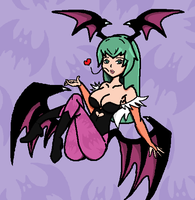 Morrigan Aensland 2 by 5p4Zim