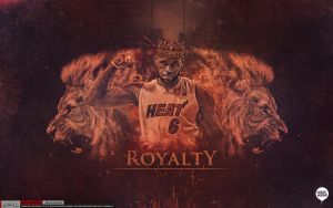 LeBron James NBA Champion Wallpaper by Angelmaker666