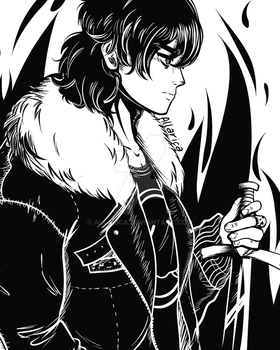 Nico di Angelo Sketch by allarica