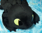 Toothless  - OOAK Hand Made by Piquipauparro