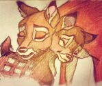 bambi doodle by mox-ie