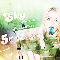 Png pack #24 Sky Ferreira by blondeDS