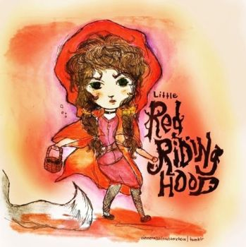 Little Red Riding Hood by schizoidsprite