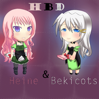 HBD  Heine and Bekicots by PrinnyLovers
